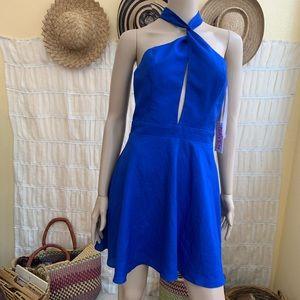 Maven Royal Blue Mini Dress